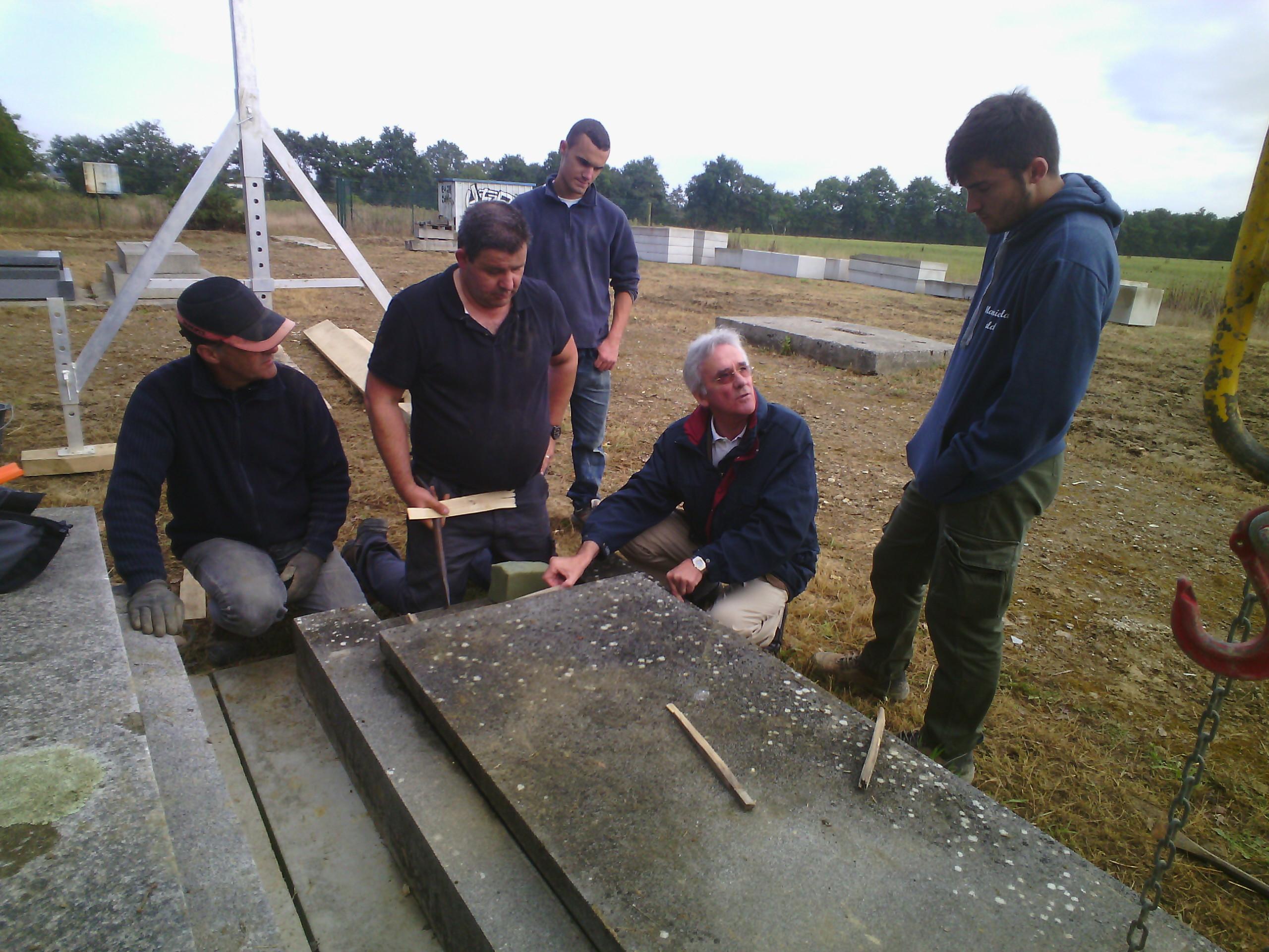 Formation techniques de cimetière travaux hors-sol école de funétique